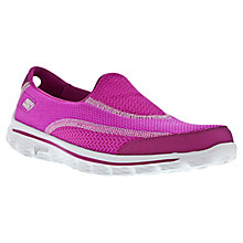 Buy Skechers GOwalk 2 Spark Sports Shoes, Raspberry Online at johnlewis.com