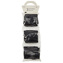 Buy John Lewis 10 Denier Handbag Tights, Pack of 3 Online at johnlewis.com