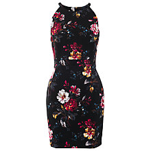Buy French Connection Gardini Halter Neck Dress, Black Online at johnlewis.com