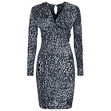 Buy French Connection Body Ray Long Sleeve Dress Online at johnlewis.com