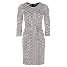 Buy NW3 by Hobbs Lia Dress, Navy/Ivory Online at johnlewis.com
