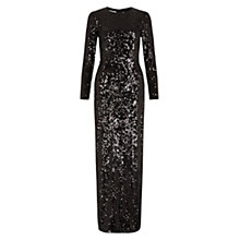Buy Hobbs Invitation Justina Maxi Dress, Black Online at johnlewis.com