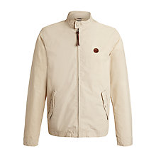 Buy Pretty Green Kingsway Harrington Jacket, Stone Online at johnlewis.com