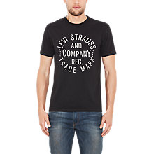 Buy Levi's Circle Logo T-Shirt Online at johnlewis.com
