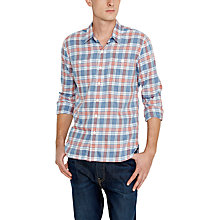 Buy Levi's Check Stock Workshirt, Blue/Red Online at johnlewis.com