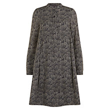 Buy Hobbs Casey Shirt Dress, Choc Multi Online at johnlewis.com