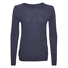 Buy Whistles Annie Sparkle Jumper, Dark Blue Online at johnlewis.com