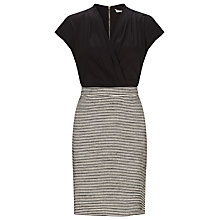 Buy Marella Wrap Top Dress, Black Online at johnlewis.com