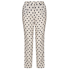 Buy Marella Ittita Spot 7/8 Trousers, Rope Online at johnlewis.com