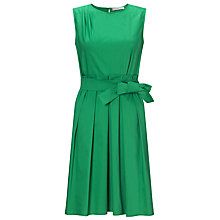 Buy Marella Osmunda Basket Waist Dress, Green Online at johnlewis.com