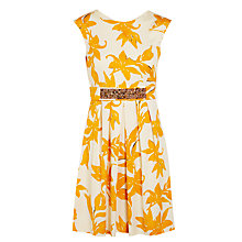 Buy Marella Floral Dress, Orange Online at johnlewis.com