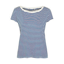 Buy Marella Debussy Split Back Top, Indigo Online at johnlewis.com