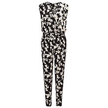 Buy Marella Chimono Floral Jumpsuit, Sand Online at johnlewis.com