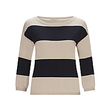 Buy Marella Stripe Jumper, Navy Online at johnlewis.com