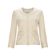 Buy Marella Linen Jacket, Cream Online at johnlewis.com