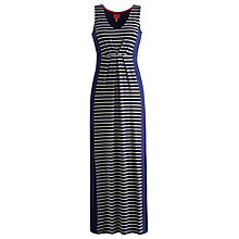 Buy Joules Oralia Maxi Dress, Hope Stripe French Navy Online at johnlewis.com