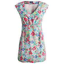 Buy Joules Elodie Tunic Dress, Cream Chelsea Floral Online at johnlewis.com