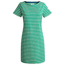 Buy Joules Riviera Dress, Spring Green Stripe Online at johnlewis.com