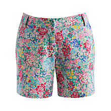 Buy Joules Elspeth Shorts, Cream Chelsea Floral Online at johnlewis.com