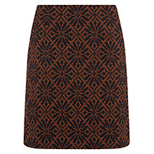 Buy NW3 by Hobbs Angela Skirt, Navy / Toffee Online at johnlewis.com