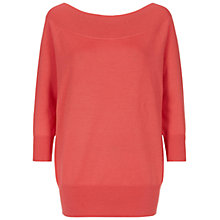 Buy Hobbs Sammy Jumper, Winter Rose Online at johnlewis.com