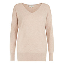 Buy Hobbs Ruby Sweater, Barely Pink Online at johnlewis.com