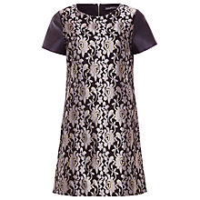Buy Sugarhill Boutique Lily Dress, Black/Gold Online at johnlewis.com
