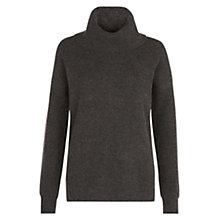 Buy Hobbs Rue Sweater, Charcoal Online at johnlewis.com