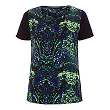 Buy Sugarhill Boutique Nicole Top, Green Online at johnlewis.com