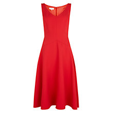 Buy Hobbs Invitation Sidonie Dress, Lace Red Online at johnlewis.com