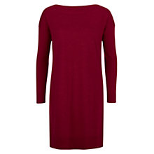 Buy Hobbs Suki Wool Dress, Winter Fuchsia Online at johnlewis.com