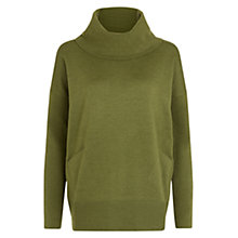Buy Hobbs Sara Wool Jumper, Light Sage Green Online at johnlewis.com