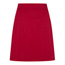 Buy Hobbs Christina Skirt, Winter Fuschia Online at johnlewis.com