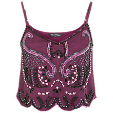 Buy Miss Selfridge Embellished Cami Top Online at johnlewis.com