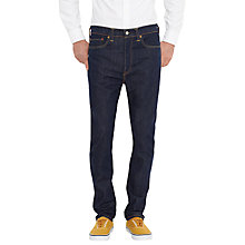Buy Levi's 522 Big Bend Tapered Jeans, Dark Indigo Online at johnlewis.com