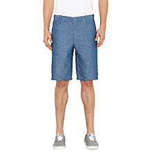Buy Levi's Better Chino Denim Shorts, Chambray Rinse Online at johnlewis.com