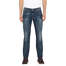 Buy Levi's 511 Slim Jeans, Ilona Mid Blue Online at johnlewis.com