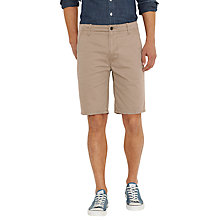 Buy Levi's Chambray Chino Shorts, Khaki Online at johnlewis.com