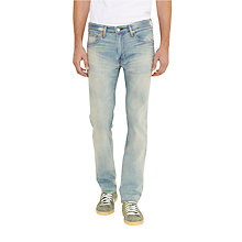 Buy Levi's 511 Pickle Weed Regular Jeans, Light Wash Online at johnlewis.com