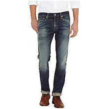 Buy Levi's 511 Stokes Castle Slim Jeans, Mid Blue Vintage Online at johnlewis.com