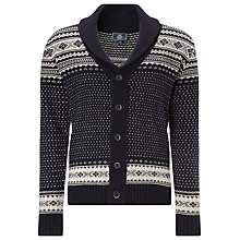 Buy John Lewis Jacquard Print Shawl Cardigan, Grey Melange Online at johnlewis.com
