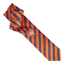 Buy Thomas Pink Ford Stripe Woven Tie Online at johnlewis.com