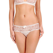 Buy Stella McCartney Mia Loving Bridal Boyleg Briefs, Floral White Online at johnlewis.com