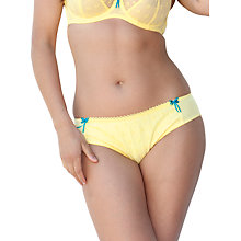 Buy Curvy Kate Dreamcatcher Briefs, Lemon Fizz Online at johnlewis.com
