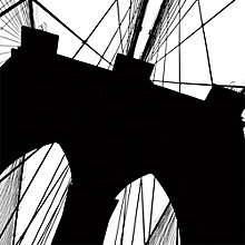 Buy Erin Clark - Brooklyn Bridge Silhouette Online at johnlewis.com