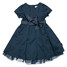 Buy Polarn O. Pyret Girls' Satin & Tulle Bow Party Dress Online at johnlewis.com