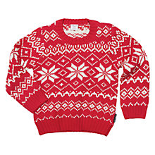 Buy Polarn O. Pyret Children's Christmas Knit Jumper Online at johnlewis.com