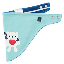 Buy Polarn O. Pyret Baby Penguin & Teddy Bear Reversible Bib Online at johnlewis.com