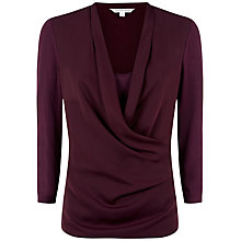 Buy Fenn Wright Manson Ivy Top, Purple Online at johnlewis.com
