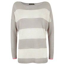 Buy Mint Velvet Block Stripe Tunic, Multi Online at johnlewis.com